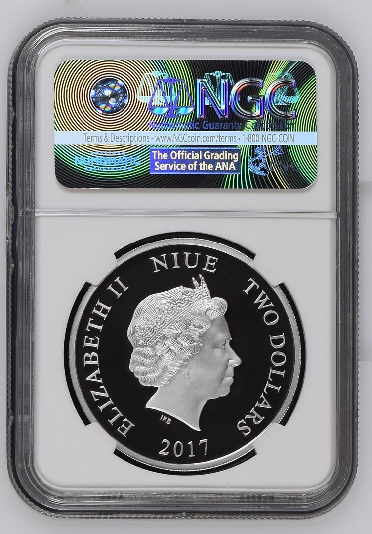 2019 NIUE $2 DISNEY MINNIE MOUSE NGC PF70UC ULTRA CAMEO 1 OUNCE OZ SILVER COIN